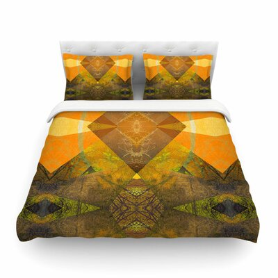 Pia Schneider Pattern Garden No4 Geometric Featherweight Duvet Cover Size: King