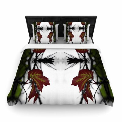 Pia Schneider Leaves Woven Duvet Cover