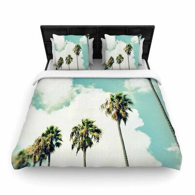 Richard Casillas Paradise and Heaven Woven Duvet Cover Size: King