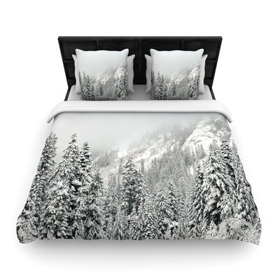 Robin Dickinson Winter Wonderland Woven Duvet Cover Size: King