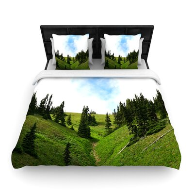 Robin Dickinson Going to the Mountains Woven Duvet Cover Size: King