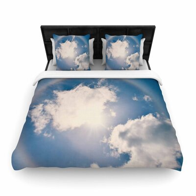 Robin Dickinson Halo Woven Duvet Cover Size: Twin