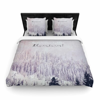 Robin Dickinson Adventures Photography Woven Duvet Cover Size: Full/Queen