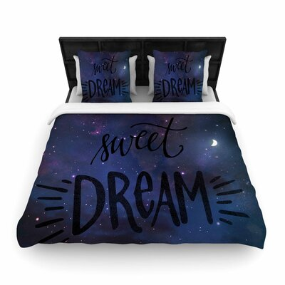 Robin Dickinson Sweet Dream Galaxy Woven Duvet Cover Size: Twin