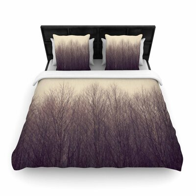 Robin Dickinson Forest Woven Duvet Cover Size: King