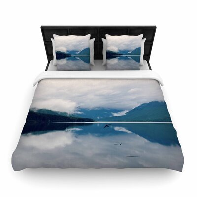 Robin Dickinson Flight Photography Woven Duvet Cover Size: Full/Queen