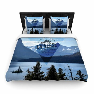 Robin Dickinson Through the Wilderness Photography Woven Duvet Cover Size: Twin