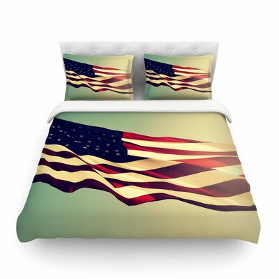 Robin Dickinson Freedom Digital Featherweight Duvet Cover Size: King