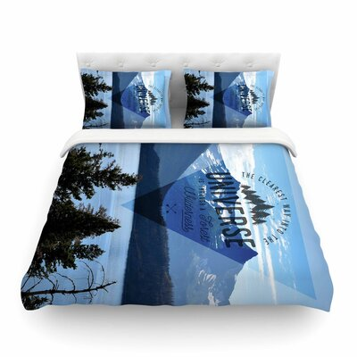 Robin Dickinson Through the Wilderness Photography Featherweight Duvet Cover Size: Twin