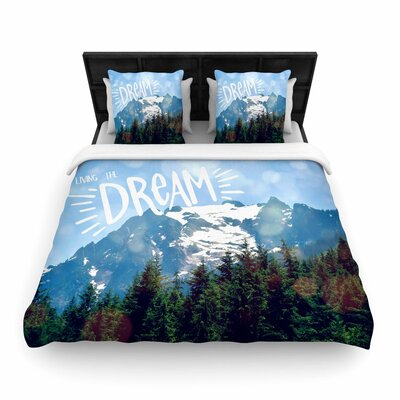 Robin Dickinson the Dream Photography Woven Duvet Cover Size: King