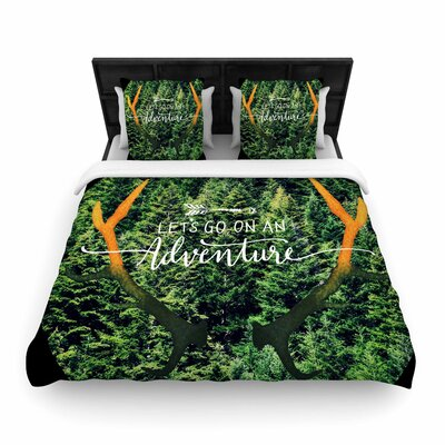 Robin Dickinson Adventure Photography Woven Duvet Cover Size: Twin
