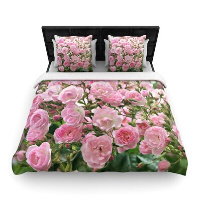 Sylvia Cook The Fairy Rose Floral Woven Duvet Cover