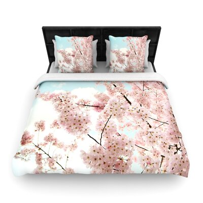 Sylvia Cook Spring Beauty Woven Duvet Cover Size: Full/Queen