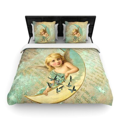 Suzanne Carter Angel Woven Duvet Cover Size: Twin