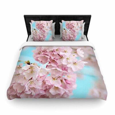Sylvia Cook a Spring Floral Woven Duvet Cover Size: Full/Queen