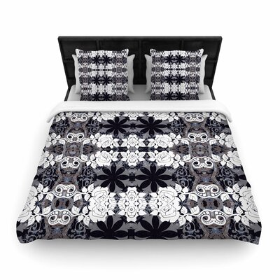 Suzanne Carter Lacey Woven Duvet Cover Size: Twin