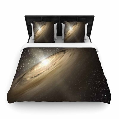 Suzanne Carter Galaxy Woven Duvet Cover Size: King
