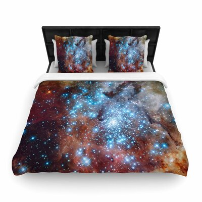 Suzanne Carter Star Cluster Space Woven Duvet Cover