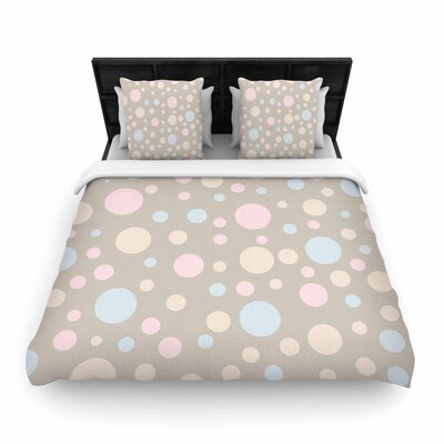 Suzanne Carter Lotty Woven Duvet Cover Size: King