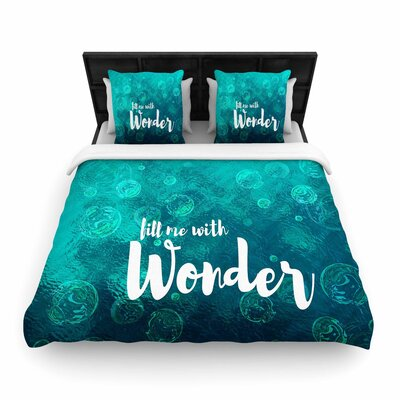 Suzanne Carter Wonder 2 Woven Duvet Cover Size: Twin