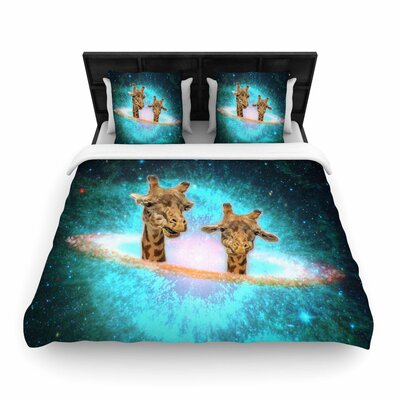 Suzanne Carter Fred & Larry Fantasy Woven Duvet Cover