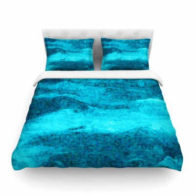 Suzanne Carter Confetti Ocean Digital Featherweight Duvet Cover Size: Twin