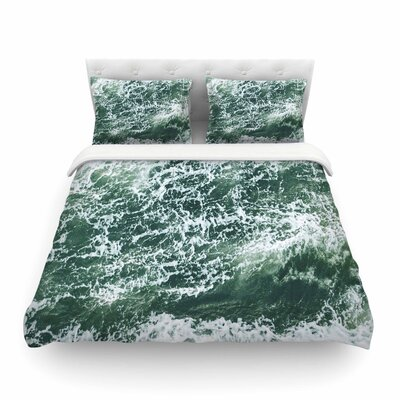 Suzanne Carter Oceans 2 Digital Featherweight Duvet Cover Size: Twin