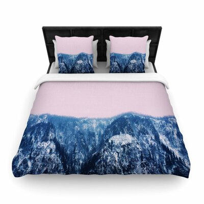 Suzanne Carter Naked Wild Digital Woven Duvet Cover Size: King