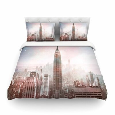 Suzanne Carter NYC Digital Featherweight Duvet Cover Size: Twin