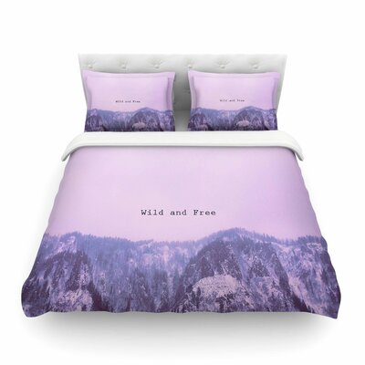 Suzanne Carter Wild and Free 2 Digital Featherweight Duvet Cover Size: Twin
