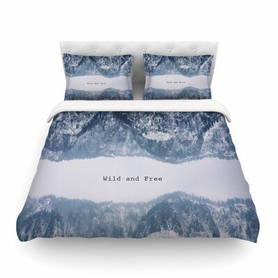 Suzanne Carter Wild and Free Digital Featherweight Duvet Cover Size: Twin
