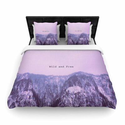 Suzanne Carter Wild and Free 2 Digital Woven Duvet Cover Size: Twin