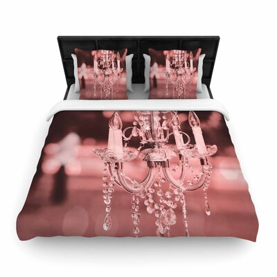 Suzanne Carter Chandelier Digital Woven Duvet Cover Size: Full/Queen