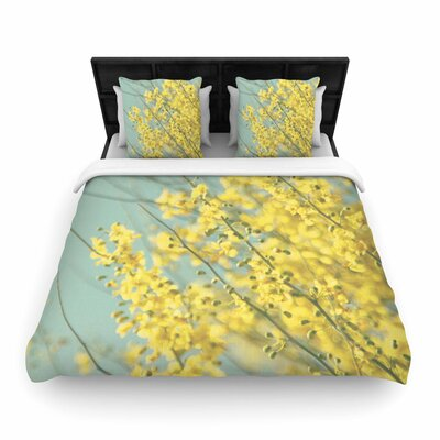 Sylvia Coomes Blooms Woven Duvet Cover Size: Full/Queen
