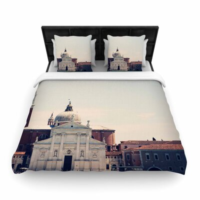 Sylvia Coomes Venice 7 Woven Duvet Cover Size: Twin