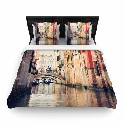 Sylvia Coomes Venice 10 Woven Duvet Cover Size: King