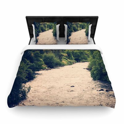 Sylvia Coomes Cold Stream Photography Woven Duvet Cover