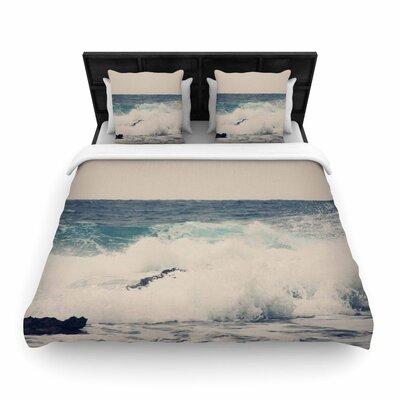 Sylvia Coomes Ocean 1 Coastal Woven Duvet Cover Size: Twin