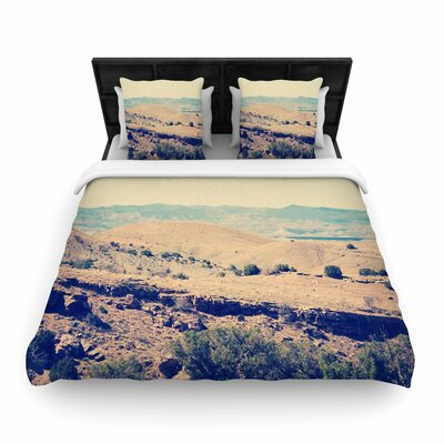 Sylvia Coomes Wild West Nature Woven Duvet Cover Size: King