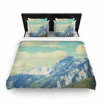 Sylvia Coomes Utah Mountains Nature Woven Duvet Cover Size: Twin