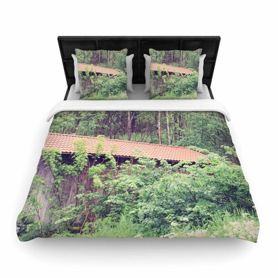 Sylvia Coomes Hidden Nature Woven Duvet Cover