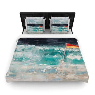 Steve Dix Great Pacific Pty Ltd Woven Duvet Cover Size: Twin