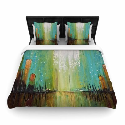 Steven Dix Twilight Imaginings Woven Duvet Cover Size: King