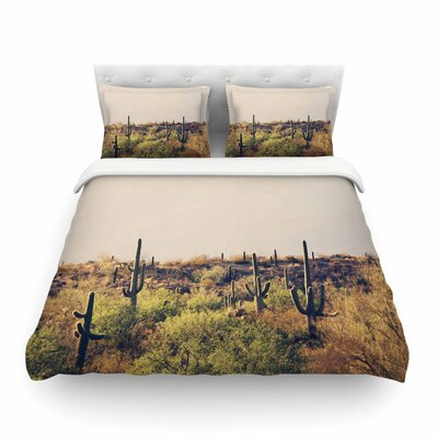 Sylvia Coomes Desert Landscape 5 Photography Featherweight Duvet Cover Size: King