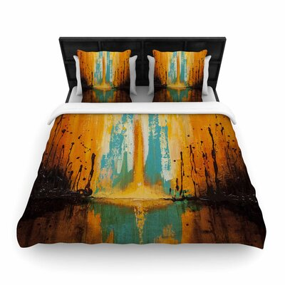 Steven Dix Inception or Birth Woven Duvet Cover Size: Full/Queen