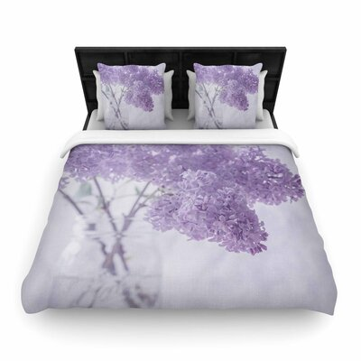 Suzanne Harford Floral Woven Duvet Cover Size: Twin