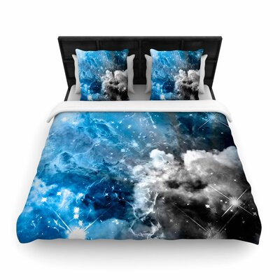 Shirlei Patricia Muniz We Are Waiting For.. Abstract Woven Duvet Cover Size: Twin