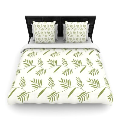 Snap Studio Ferngully Woven Duvet Cover Size: Twin