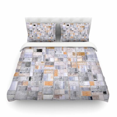 Susan Sanders Tile Squares Photography Featherweight Duvet Cover Size: Twin