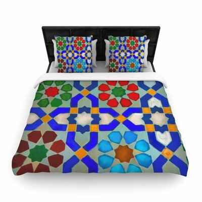 S Seema Z Morrocon Pattern Woven Duvet Cover Size: Twin